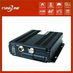 4CH 4G WiFi GPS bon marché de l'enregistreur vidéo sans fil 720p DVR mobiles du chariot