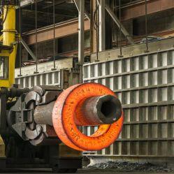 圧力容器のための熱間圧延の造られた鋼鉄リング