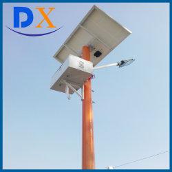 8m полюс 60W для использования вне помещений LED солнечной улице в саду лампы на верхней части аккумуляторной батареи