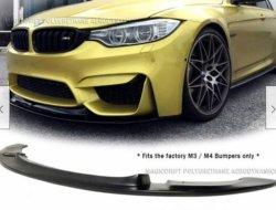 Comercio al por mayor Accesorios para auto Auto Parts universal de la cuchilla de aire delantera Body Kits Lip Spoiler paragolpes aletas