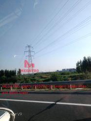 Megatro 220kv 220SZ2 circuito duplo tangente e de electricidade de alta tensão Pylon Torre de aço