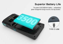 La lumière 3500mAh Batterie 5,7 pouces lecteur MIFARE 4G NFC Android POS terminal portable