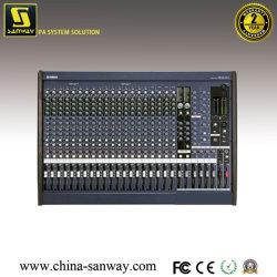 24台のチャネルDJの専門の可聴周波ミキサー(MG24/14FX)