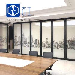 Внутренних дел стекла перегородки двери стальные рамы для управления