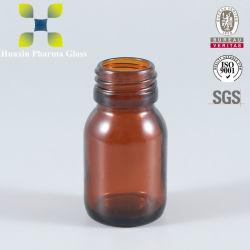 Liquide Orale Sirop moulé la chaux sodée Bouteille de verre