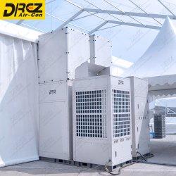 Emballé industriel portable grand refroidissement canalisés 30HP 28tonne Exposition tente de l'événement de plein air de la climatisation