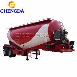 Chengda 3 Ejes 50cbm Bulker de cemento para la venta en Pakistán