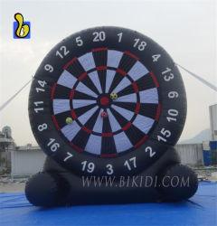 Het opblaasbare Dartboard van de Voetbal, Spel van de Sport van het Doel van het Voetbal het Opblaasbare