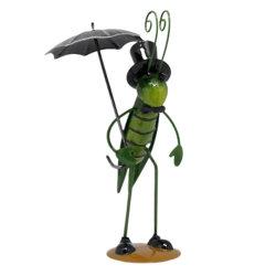 Оптовая торговля Китая производство/Поставщик Дом и сад оформлены орнамент Grasshopper Металлообработка