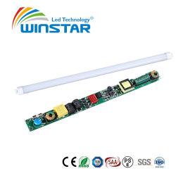 Ce и RoHS утвердил 160 lm/W T8 светодиод трубки совместим балластное электрическое сопротивление