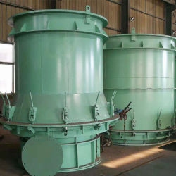 Tubo de fundición de vibración vertical de la máquina de tubo de cemento