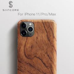 L'iPhone d'affaires en bois Sancore11/Pro/Pro Max cas Téléphone