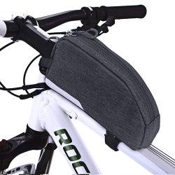 Commerce de gros sac de Cyclisme Vélo Top Tube pochette d'accessoires de support de téléphone de vélo Cyclisme Vélo pignons Outils Sac de châssis