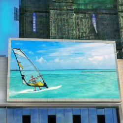 Крепежные висящих реклама светодиодный дисплей плата для установки вне помещений