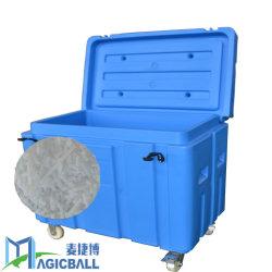 Grande boîte de gros de la pêche du boîtier de refroidisseur 68L/conteneur de stockage à froid/miel des conteneurs de 60 lb