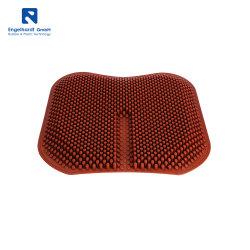 Sillón de masaje cojines Waterproof Non-Slip Anti-Decubitus Cómodo cojín de asiento de coche transpirable del cojín del asiento de silicona