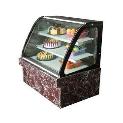 Ventilateur de refroidissement pour vitrine de présentation de verre courbe gâteau gâteau