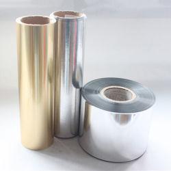 Película de aluminio compuesto de plástico