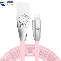 電話ケーブルワイヤーかわいい漫画ケーブルの保護装置販売のための小型USBケーブル