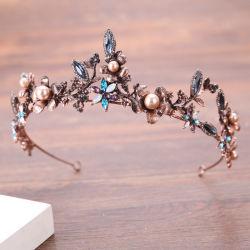 Vintage clássico jóias Headdress parte de moda da banda de cabelo joalharia