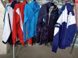 使用されたClothing100%Nylonは衣類の大人のトレーニングの摩耗を使用した