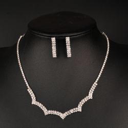 Collana di rame della catena del diamante della collana dei monili del diamante del nastro