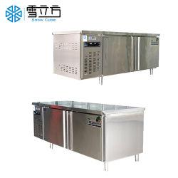 Neuer Entwurfs-Handelsglastür-Brust-Gefriermaschine-/Kühlraum-/Refrigerator-Edelstahl