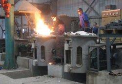 Smeltende Oven van de Inductie van China (50KG-20 000KG) de Industriële voor het Ijzer van de Machine, Koper, Staal, Aluminium
