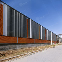 El bastidor de acero Estructura de acero de la luz de nosotros Almacén con apartamento
