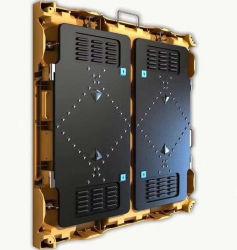 경량 발광 다이오드 표시 스크린 단계 배경 LED 영상 벽 P5는 주조 알루미늄 내각을 정지한다