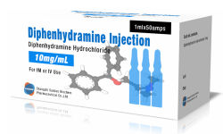 Hochwertige Diphenhydramine Hydrochlorid Antihistaminic Einspritzung 12.5mg/5ml