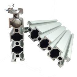 완벽한 표면 2080 20X80 슬롯 6 중국 6mm T 슬롯 알루미늄 /Aluminium 단면도를 가진 20 mm