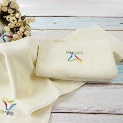 Broderie logo personnalisé de promotion de gros de la salle de gym serviette de sport