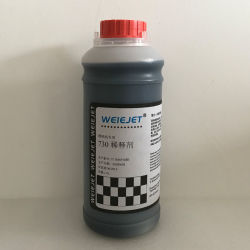 preço de fábrica Tintas base água Weiejet 730 tinta solvente de tinta para impressora JIC