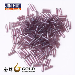 Haute Qualité des perles de verre 12/0 Bugle matériel desserré