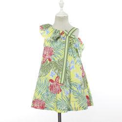 Enfants Enfants floral d'usure d'été des vêtements de coton des robes pour les filles 2-10 année
