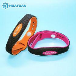 WS36 de silicona de moda NFC NTAG RFID 210/212/213/215/216 Muñequera Parque Acuático