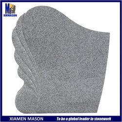 シアムンFactoryのヨーロッパ式のGray Granite Gravestones Made