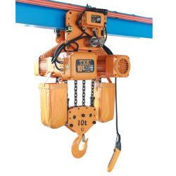 رافعة مرفاع سلسلة كهربائية بقدرة 10 أطنان متربة 220 فولت - 690V للجسر العلوي الرافعة