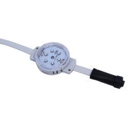 50mm het Flexibele Programmeerbare RGB Licht van de Koepel van het Pixel DC24V voor de Decoratie van Bruggen