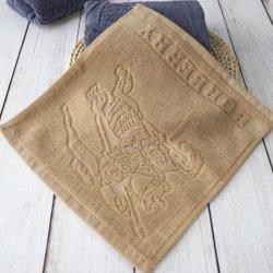De ultra Zachte Katoenen van 100% Handdoek van het Gezicht met het Embleem van de Jacquard