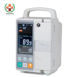 Sy-G076-2 Medical precio de fábrica de inyección de portátil con batería de la bomba de infusión