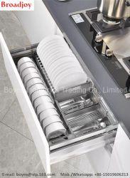 Armoire de stockage de gros fournisseur de la Chine Panier porte-accessoires de cuisine des plats sur le fil Rack
