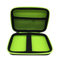 Suficientemente áspera Zipper Travel Organizador de cabos grandes EVA Lápis Eletricista Bolsa de ferramentas Bag Eletrônicos portáteis Acessórios do calculador da caixa de armazenamento para o Kit Charg USB