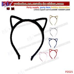 Valentine 's bandeau Cat oreille Cadeau Accessoires de cheveux cadeaux de mariage en commerce de gros de la nouveauté de l'artisanat (P2021)
