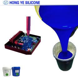 Borracha de silicone líquido para Filtro de Ar com estrutura de Flange