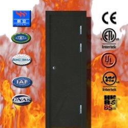 Residencial de alta qualidade de resistência a fogo da porta de aço galvanizado com BS/Certificado UL