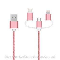 Handyzubehör MFI zugelassenes Blitzkabel, Mikro-USB-Kabel, Kabel USB-C für iPhone, androide Einheit mit Aluminiumverbinder
