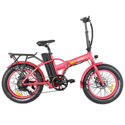Gomma grassa portatile personalizzata di alto potere che piega la bicicletta elettrica della città della bici