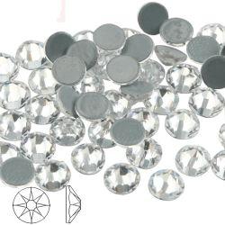 Kingswick 2088 Hot Fix Crystal Cristal Hotfix Rhinestones Strass de cristal de piedra de hierro Ab en la ropa